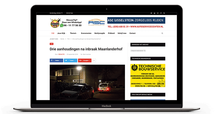 Website Bouwer IJsselstein