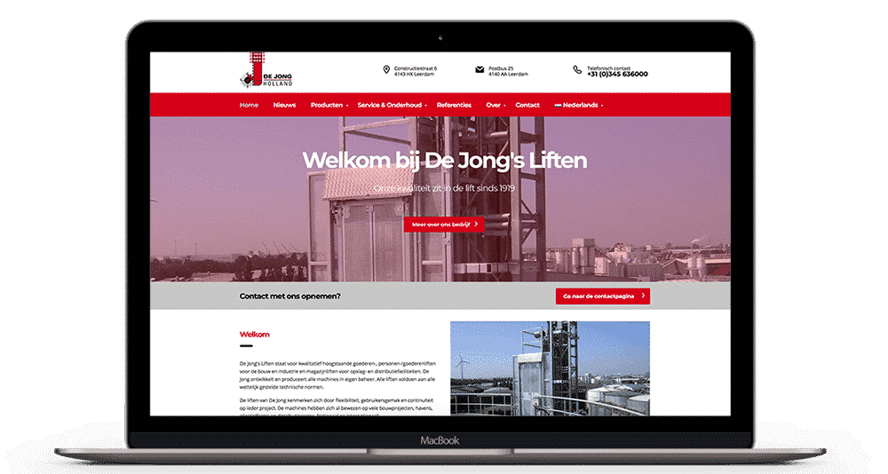 Website Bouwer Oudewater