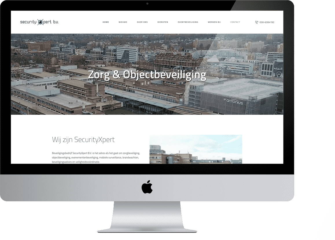 project securityxpert zorg